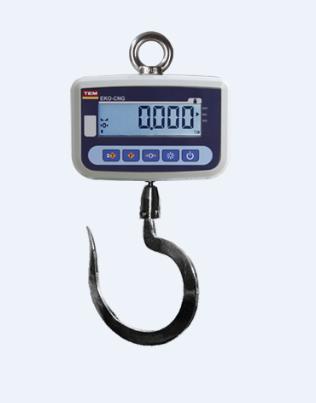 TEM EKO Serisi LCD Çengel Baskül (30/60/150/300/500 Kg)
