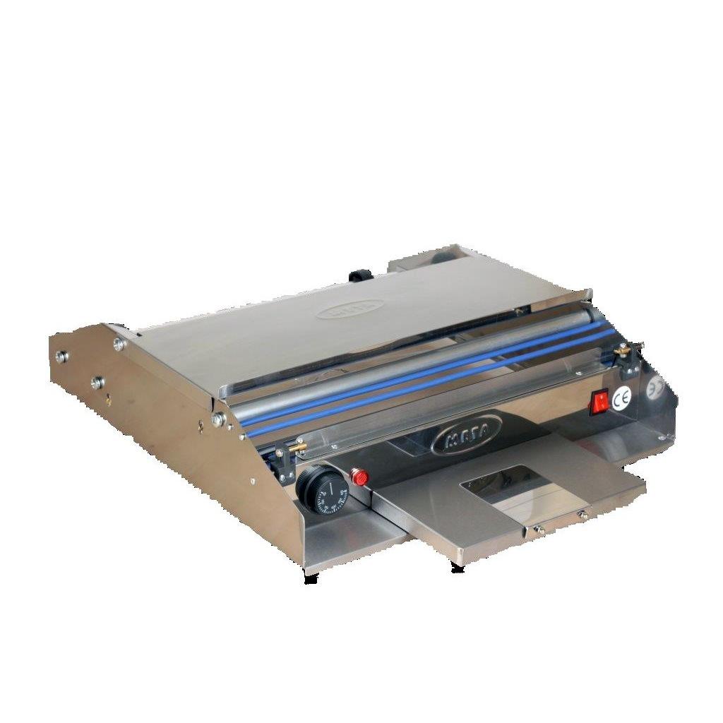 TEM Streçleme Makinesi Yatay Paslanmaz 45X15