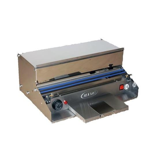 TEM Streçleme Makinesi Dikey Paslanmaz 45X15