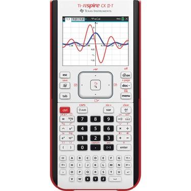 Texas Instruments TI-Nspire CX II-T Grafik Hesap Makinesi