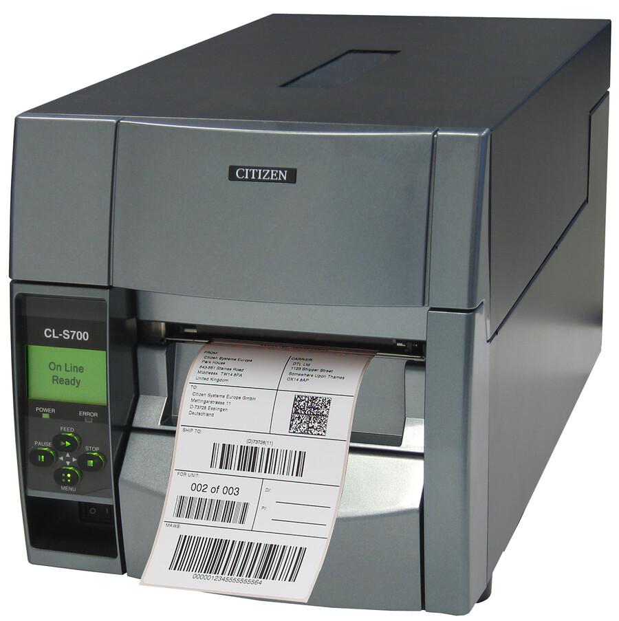 Citizen CL-S700 Endüstriyel Barkod / Etiket Yazıcı