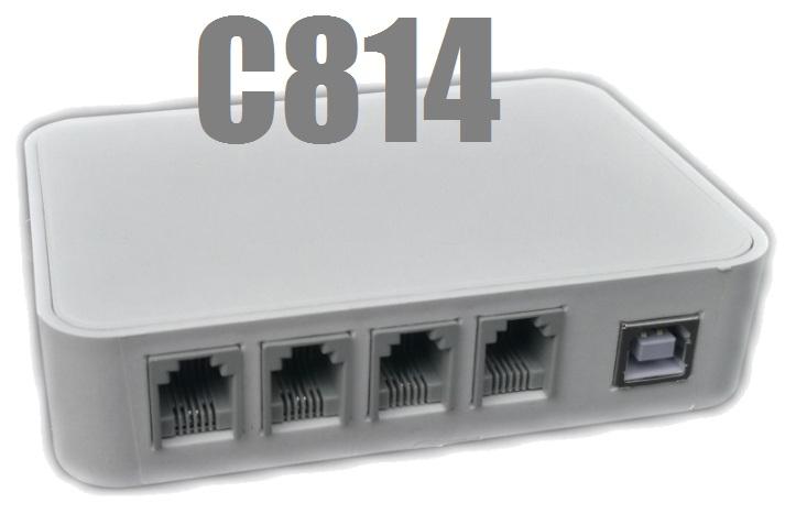 CALLER ID C814 (4 Hatlı)